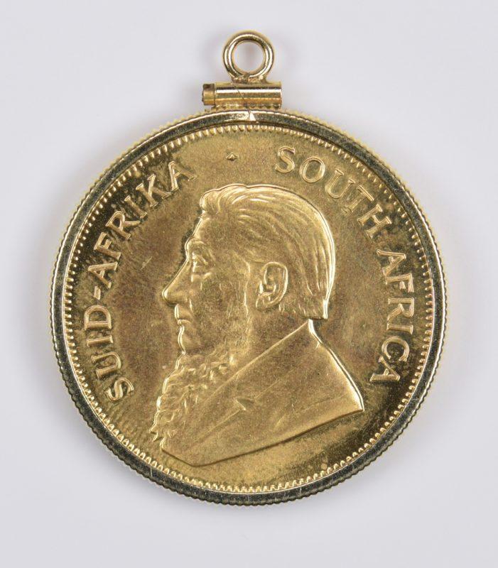 Lot 981: 1 oz 22K Gold South African Krugerrand, 1980
