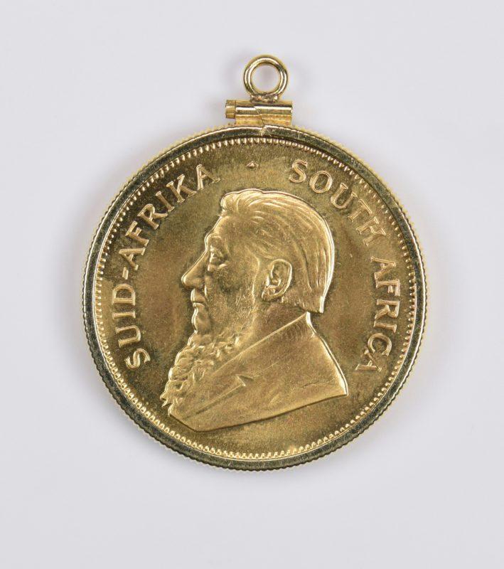 Lot 982: 1 oz 22K Gold South African Krugerrand, 1980
