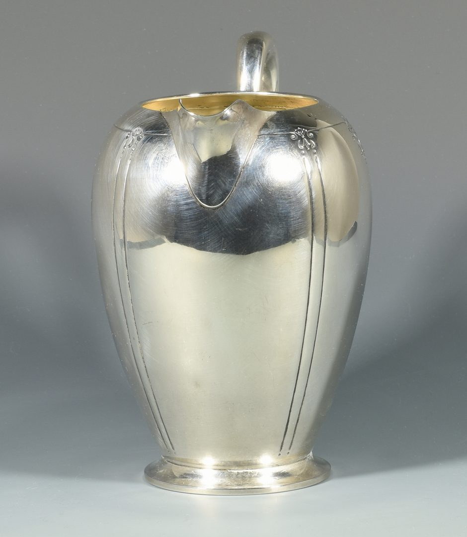 Lot 987: International Sterling Water Pitcher, Sedan Pattern