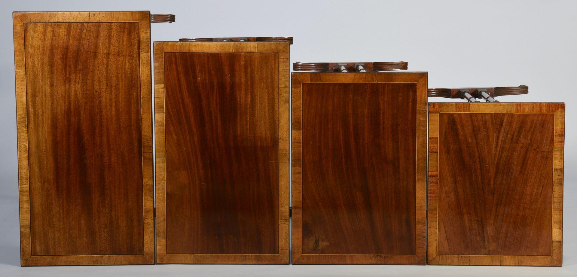 Lot 98: Set 4 Period Nesting or Quartetto Tables