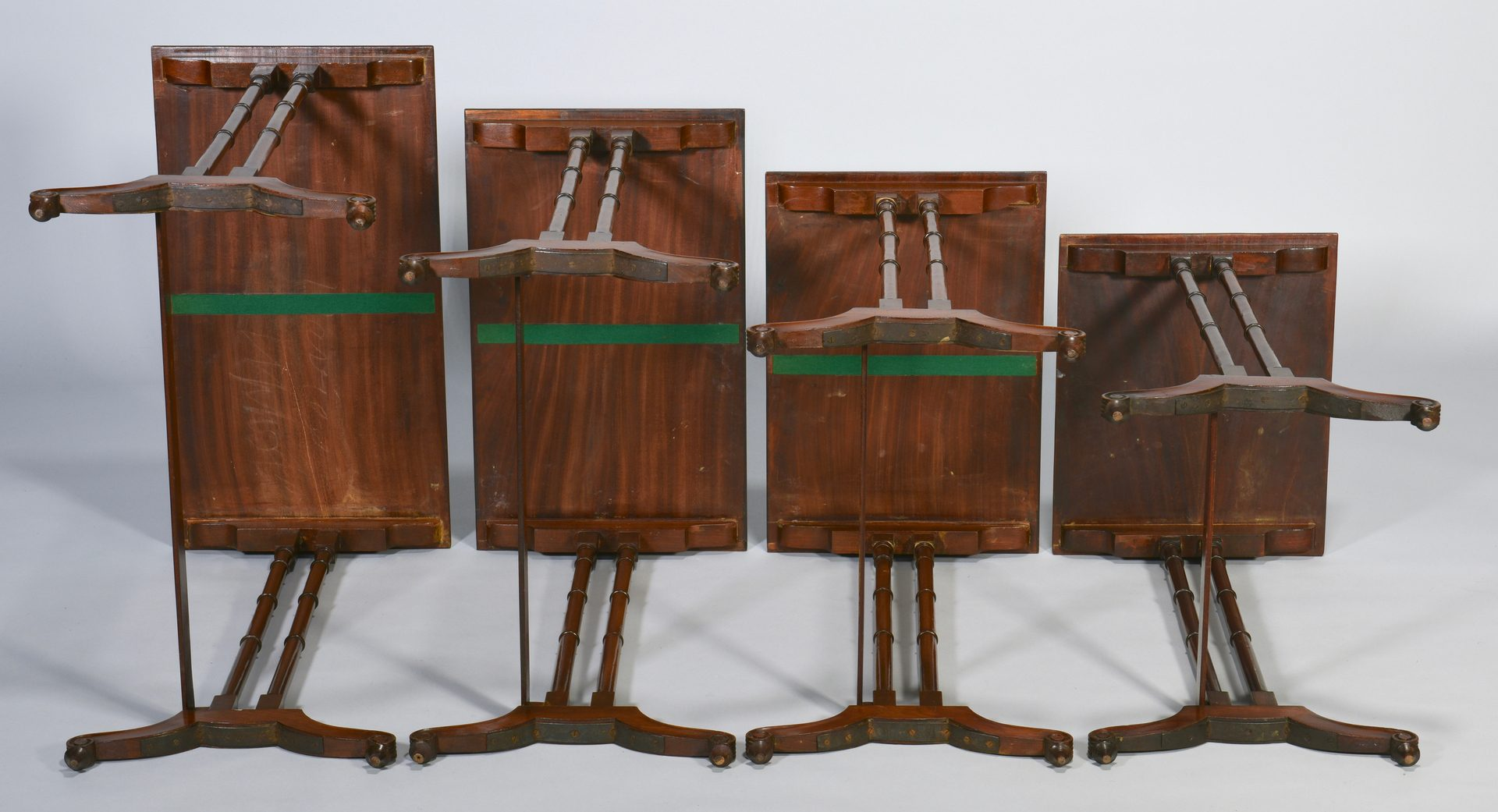 Lot 98: Set 4 Period Nesting or Quartetto Tables