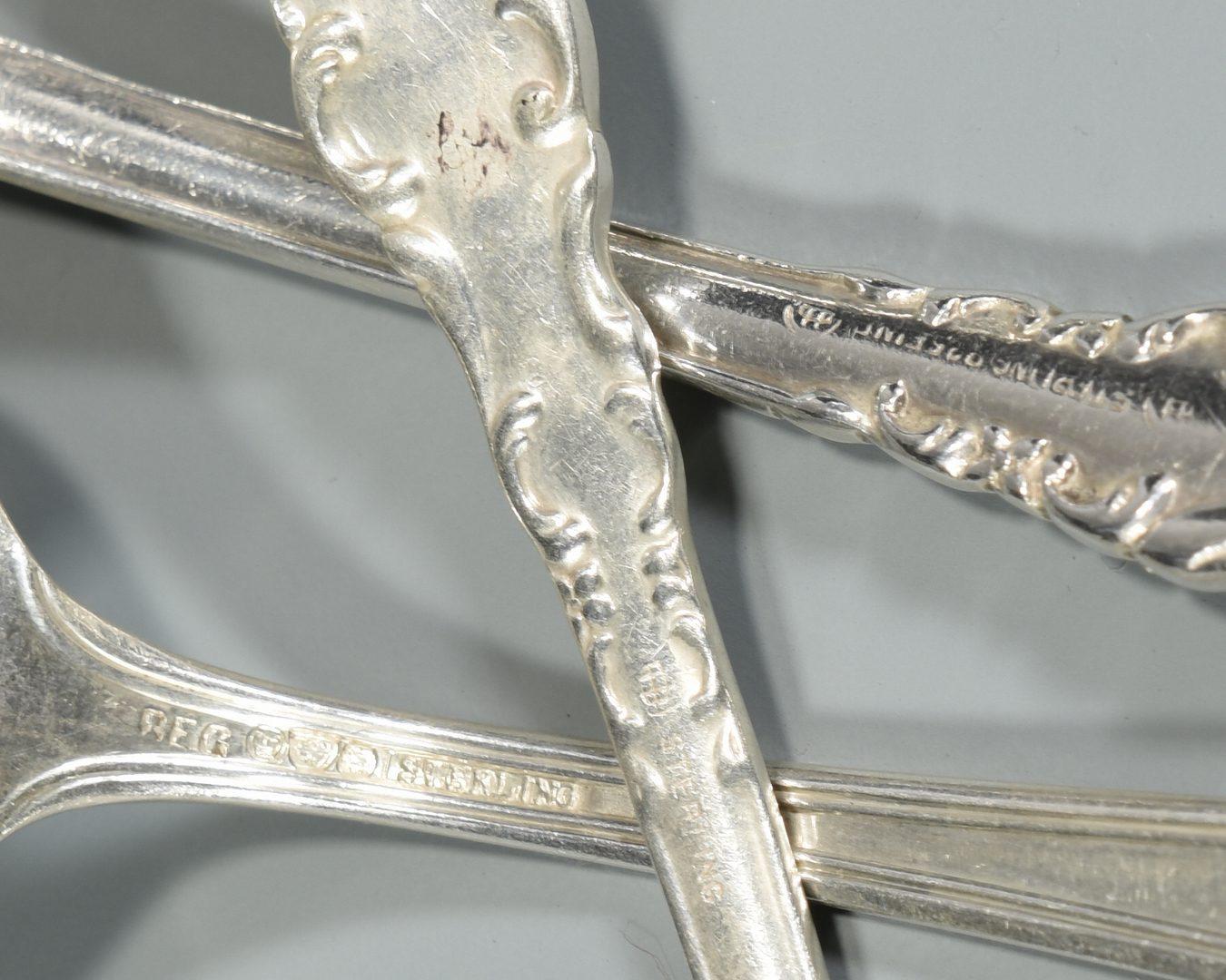 Lot 991: Assorted Vintage Sterling Flatware, 31 Pcs.