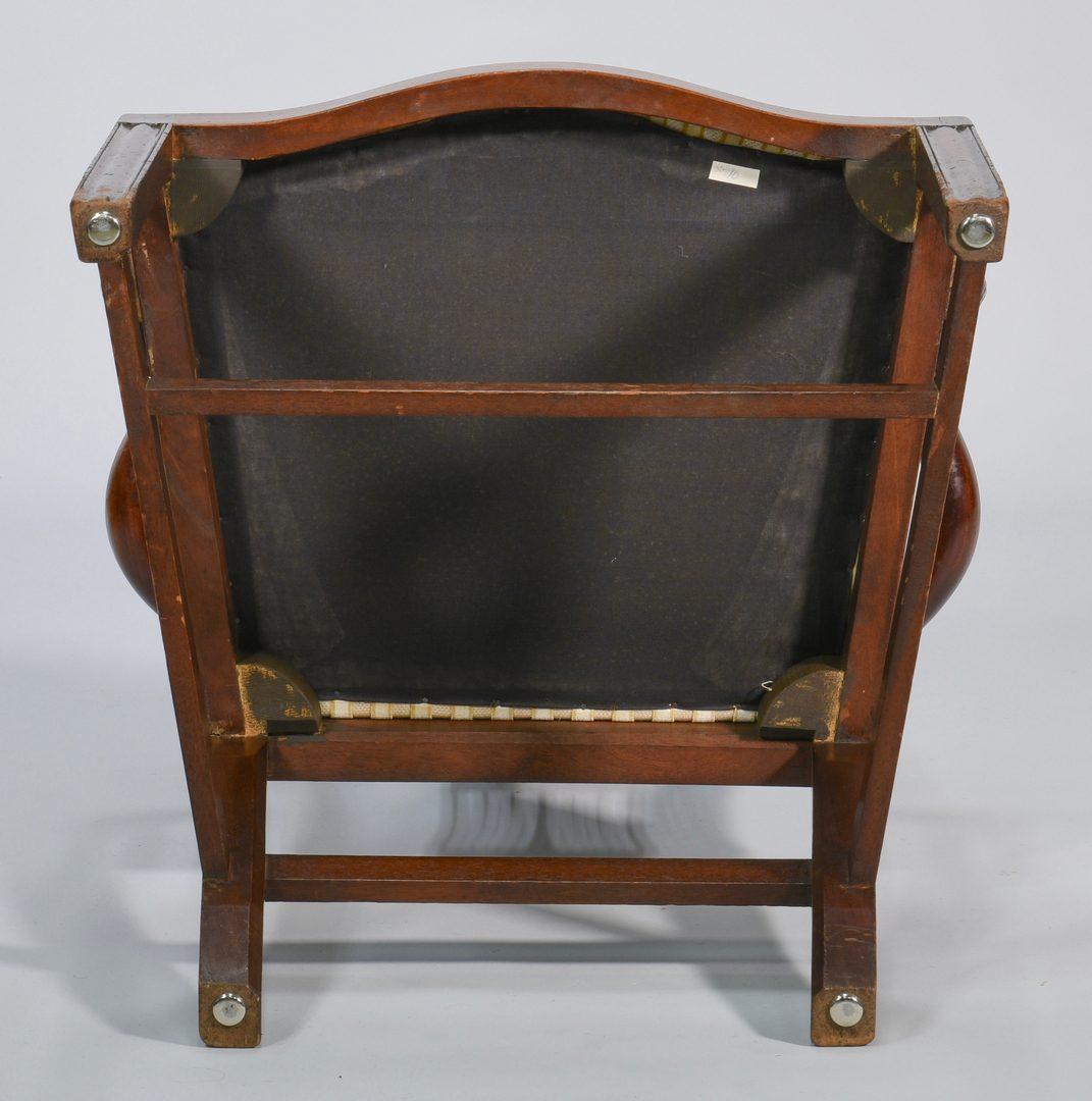 Lot 99: Pr George III Mahogany Armchairs