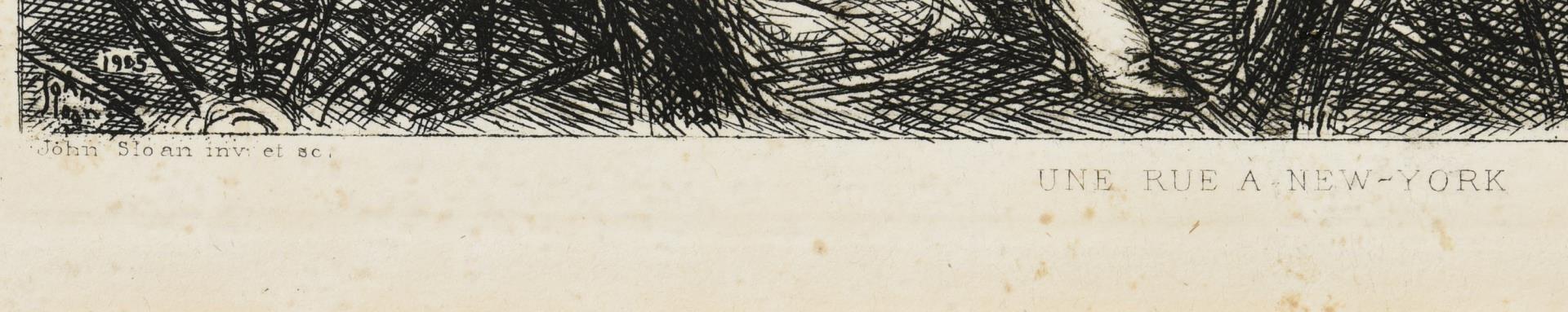 Lot 103: 3 Prints incl. Sloan