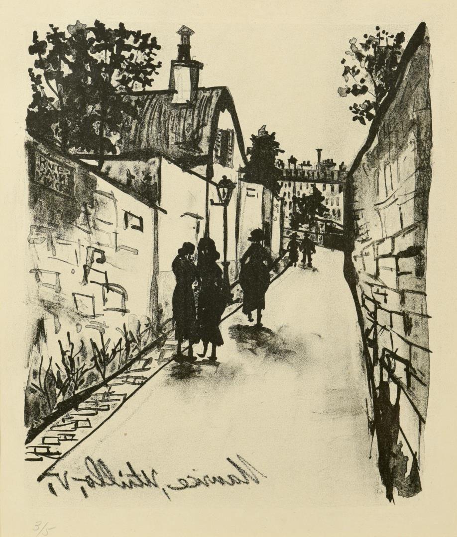 Lot 106: Pr. 20th Century Prints, Kleinholz & Utrillo
