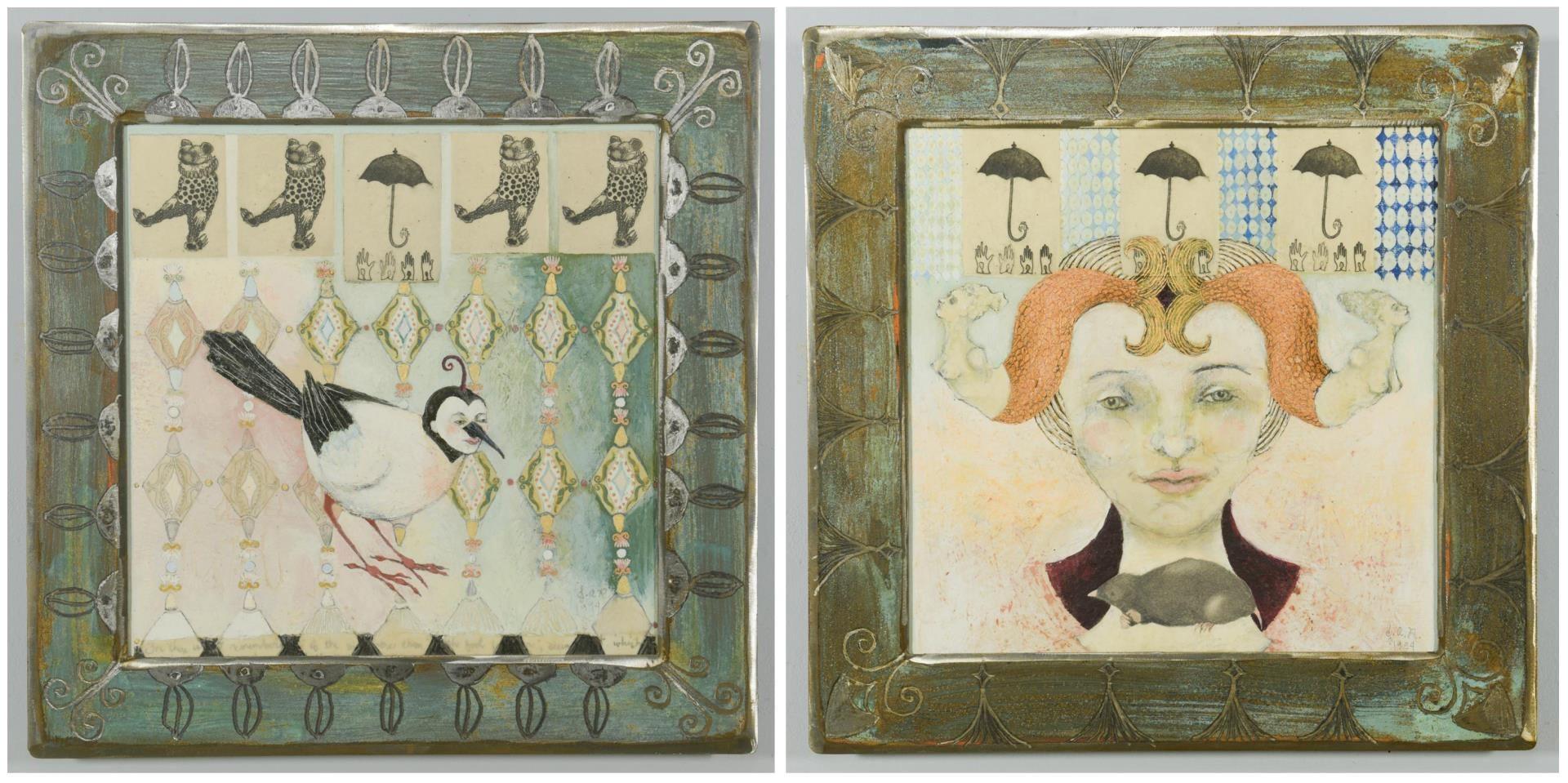 Lot 109: Art works by Julie Richard Crane, Total 2