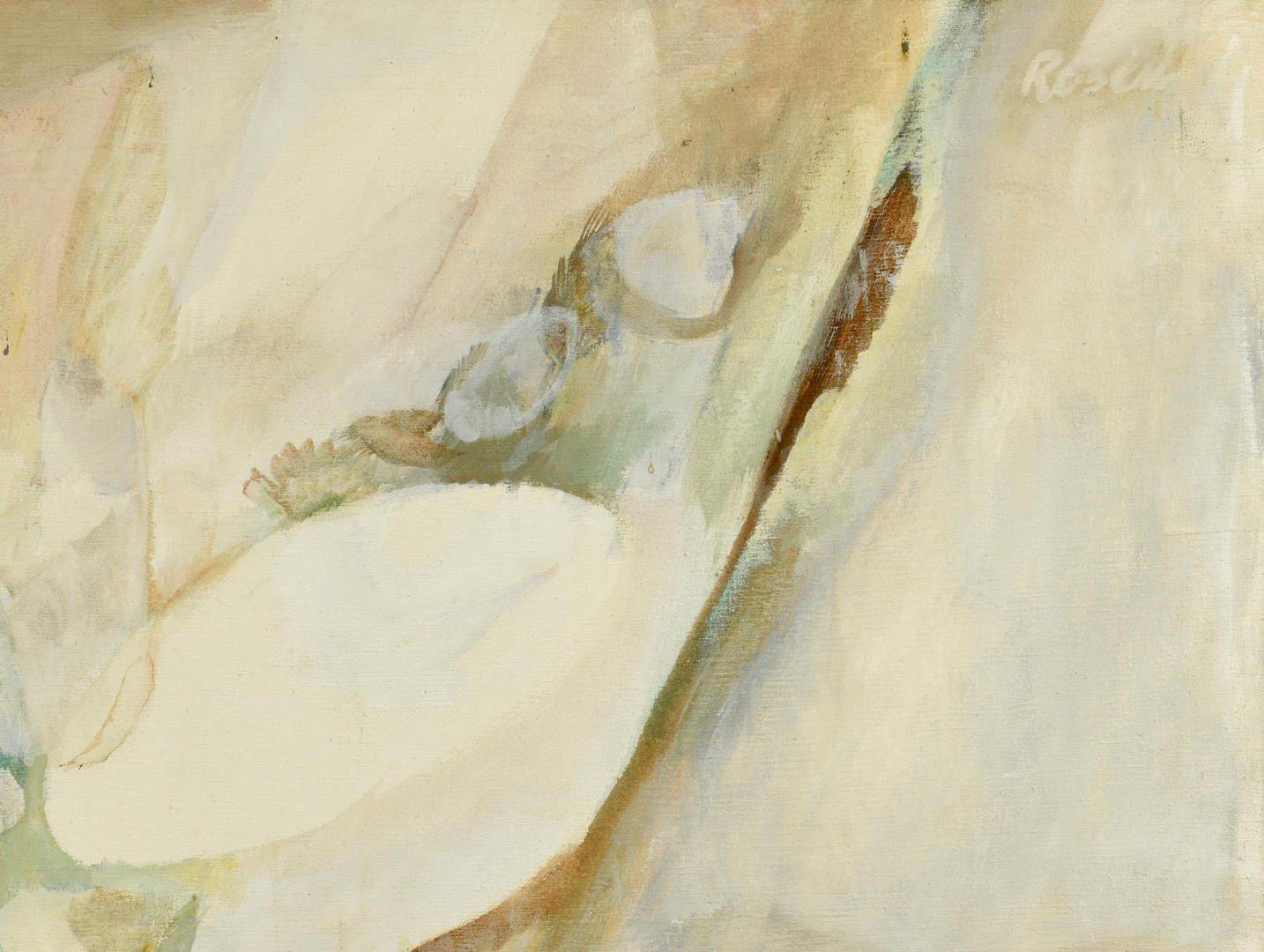 Lot 112: Joan Rosen o/c Hops and Seeds