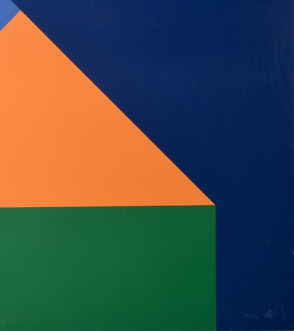 Lot 113: Mid-Century Modern Abstract Color Field Print