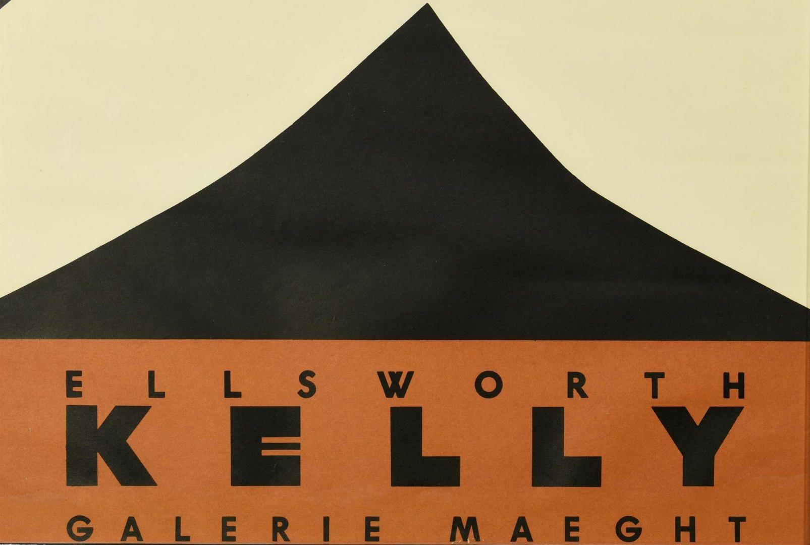 Lot 119: Ellsworth Kelly print