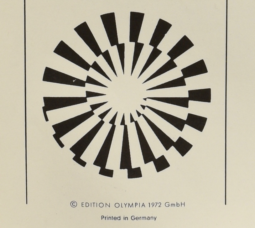 Lot 122: Five 1972 Munich Olympic Posters