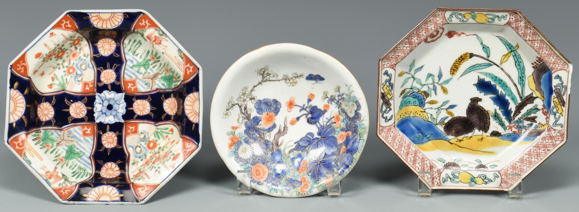 Lot 137: Assorted Group Japanese Porcelain, 10 items