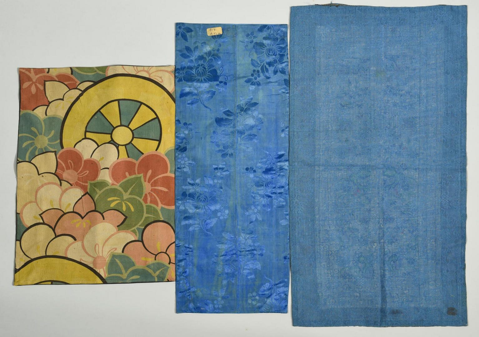 Lot 142: Group of 6 Chinese Embroideries on Silk