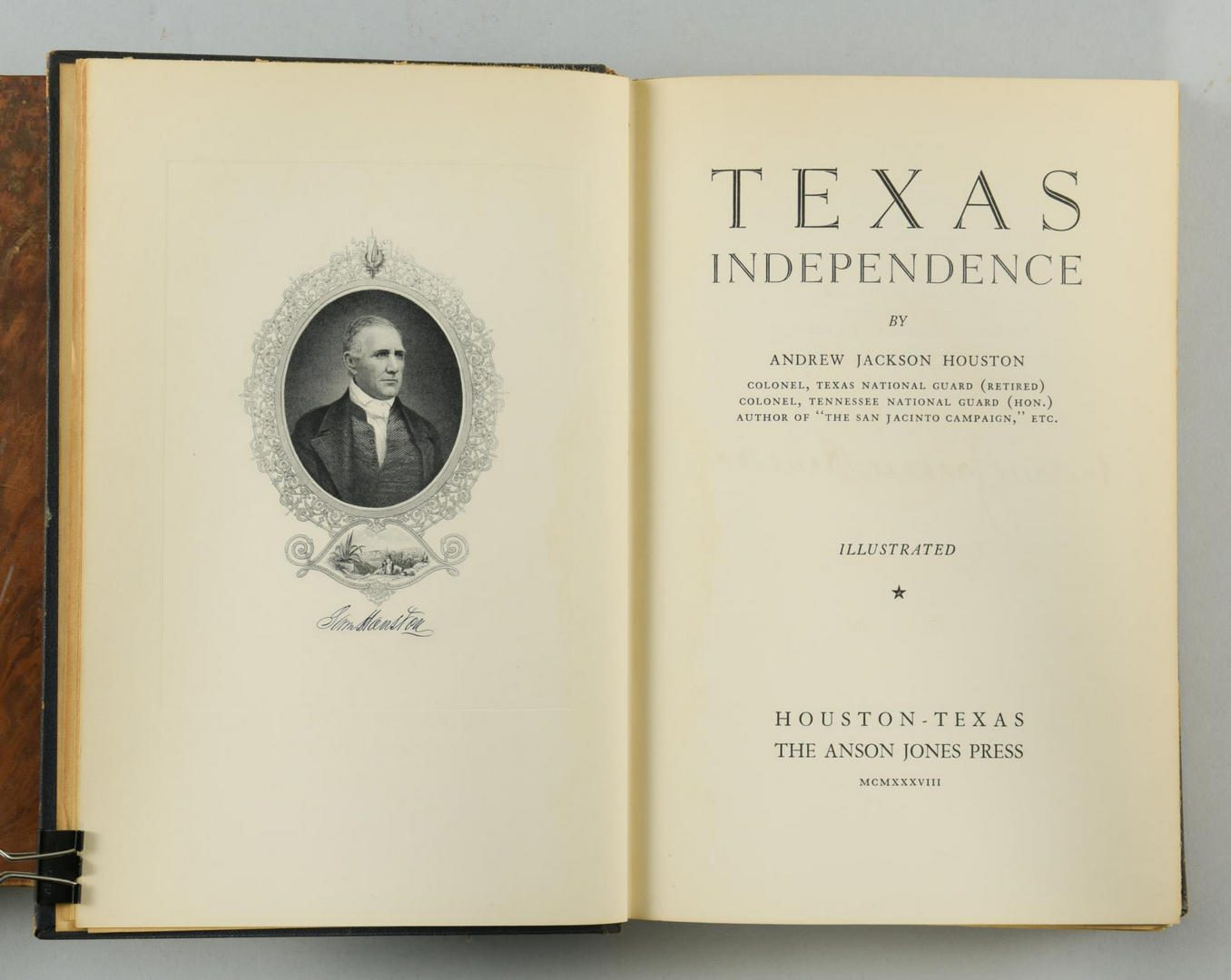 Lot 147: Texas Independence & Thomas Jefferson's Correspondence