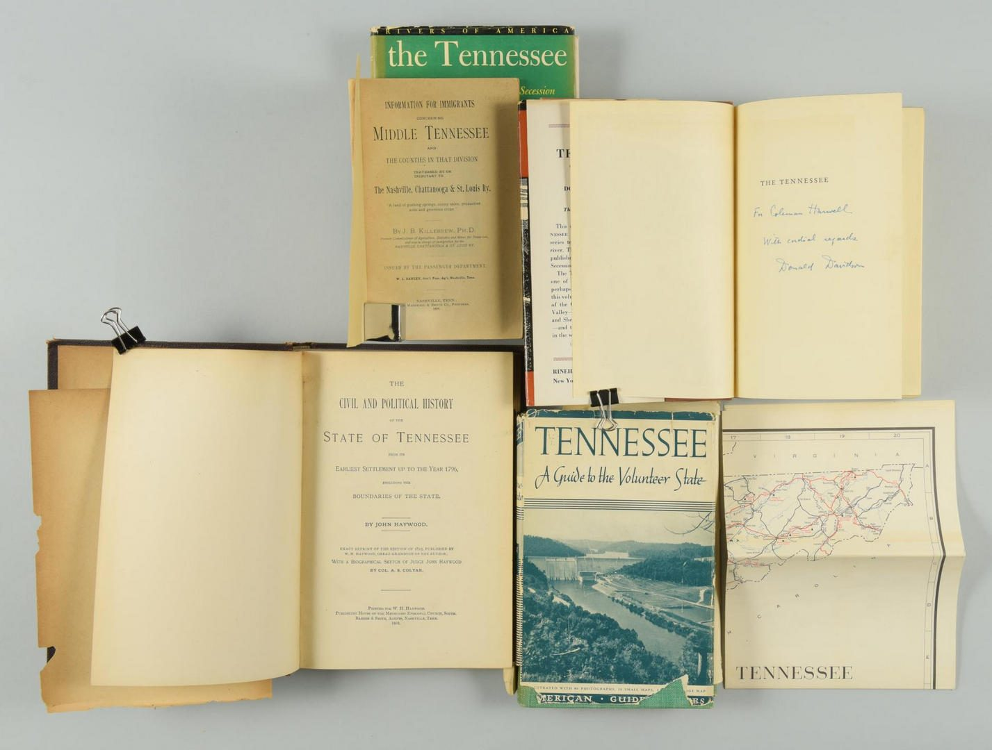 Lot 149: Lot of 41 Tennessee History Books