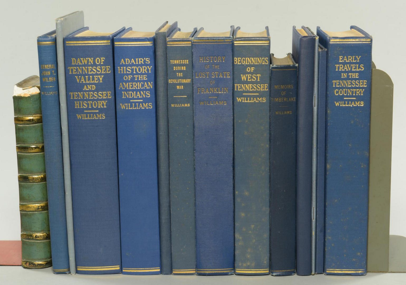 Lot 150: Lot of 13 Sam Cole Williams Books, Tennessee Related