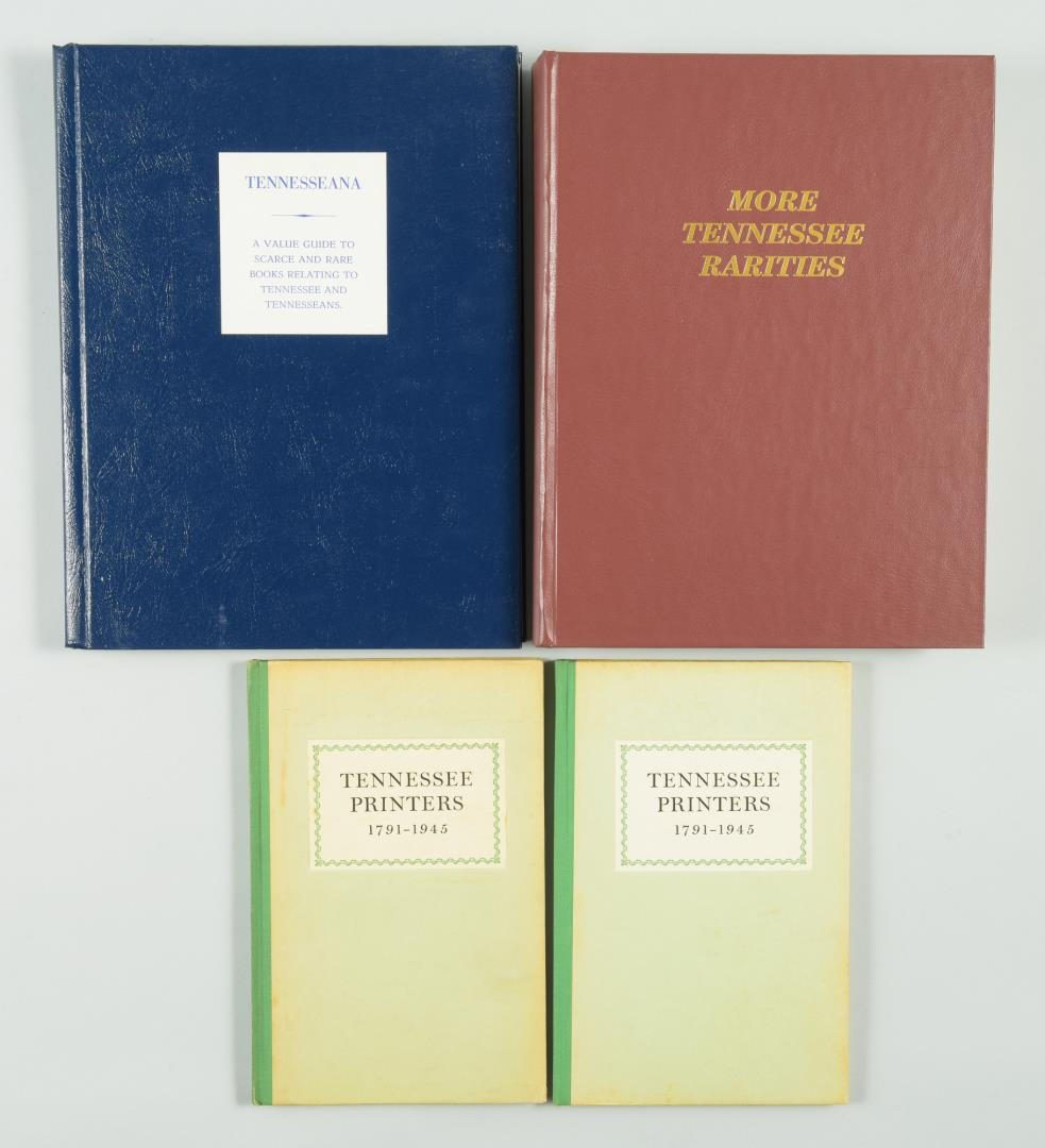 Lot 154: Lot of 9 Tennessee Reference Books inc/Printers