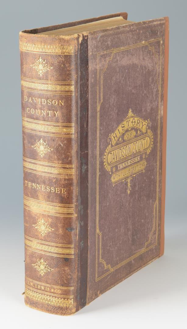 Lot 156: Clayton History Davidson County, Nashville 1880