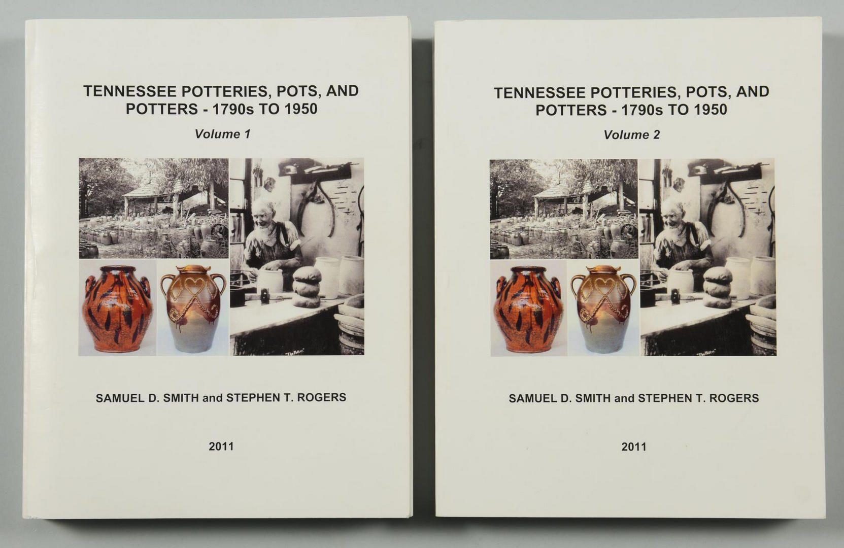 Lot 168: Tennessee Potteries, Pots and Potters, Vols. I & II