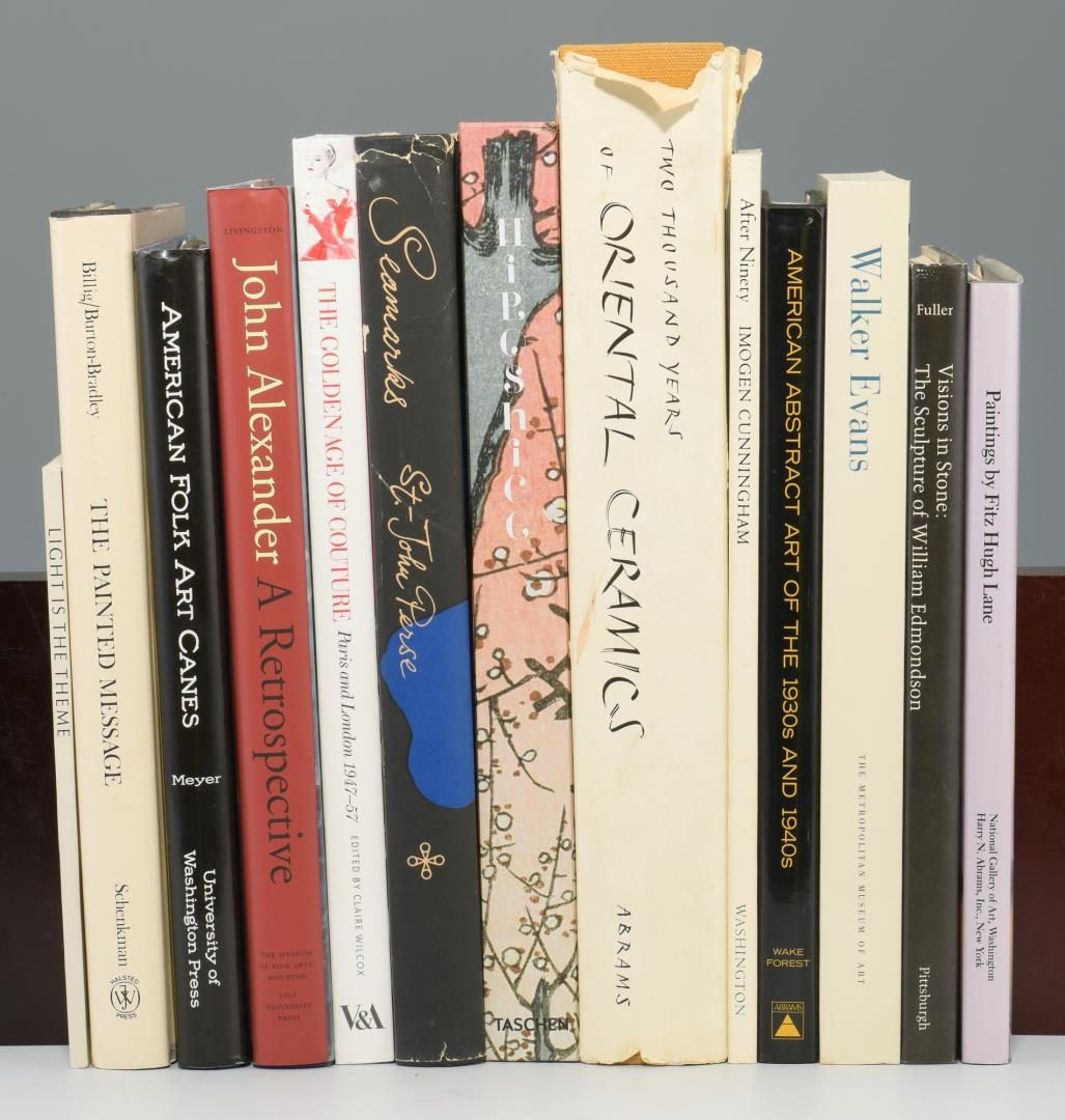 Lot 170: Lot of 13 Contemporary Art Books