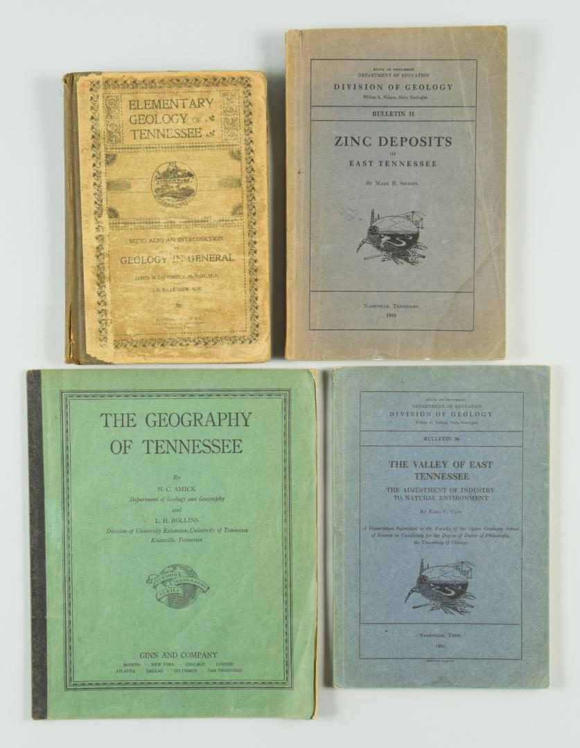 Lot 171: Lot of 10 Tennessee Natural Resources Books