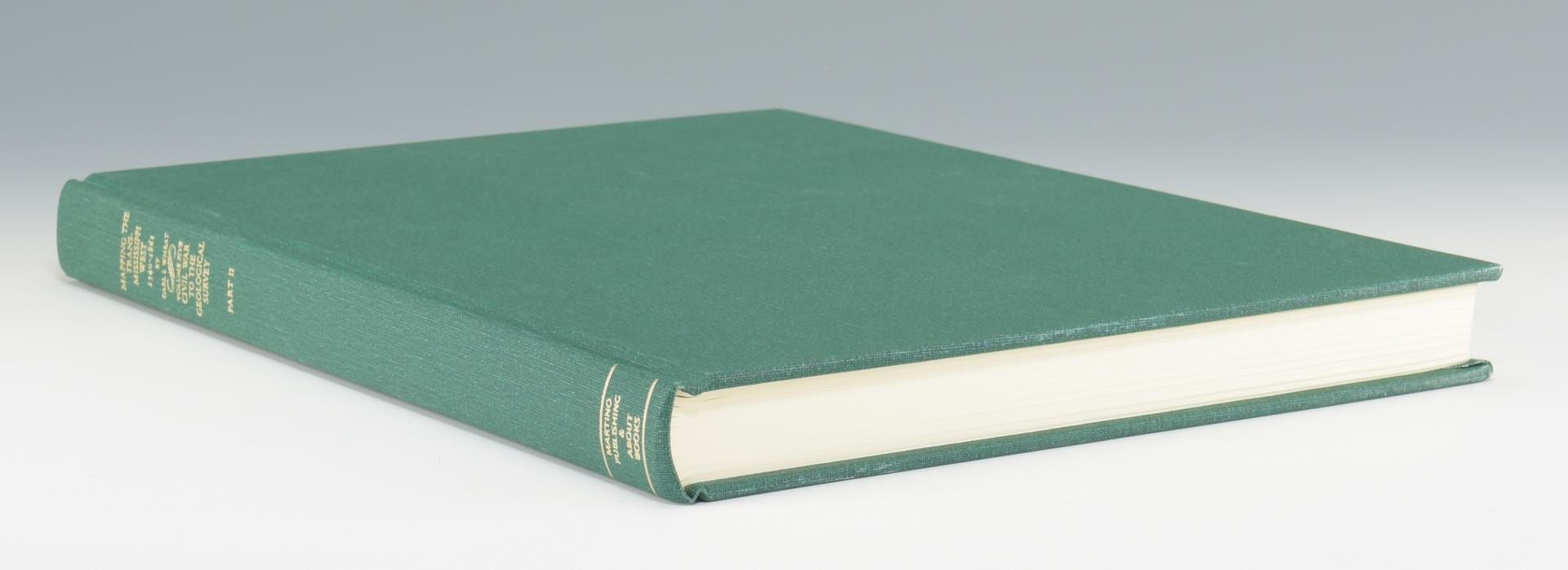 Lot 172: Mapping the Trans-Mississippi West, 6 Vols. facsimile reprint edition