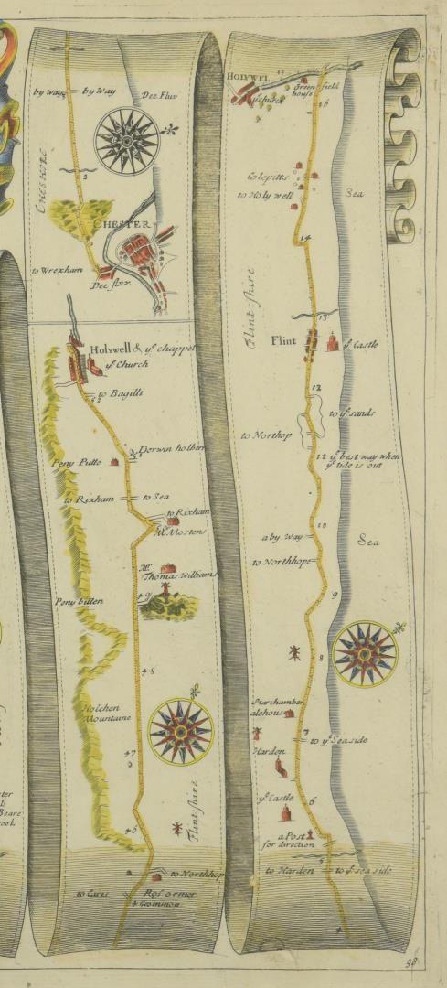 Lot 178: 4 English Maps & Engravings