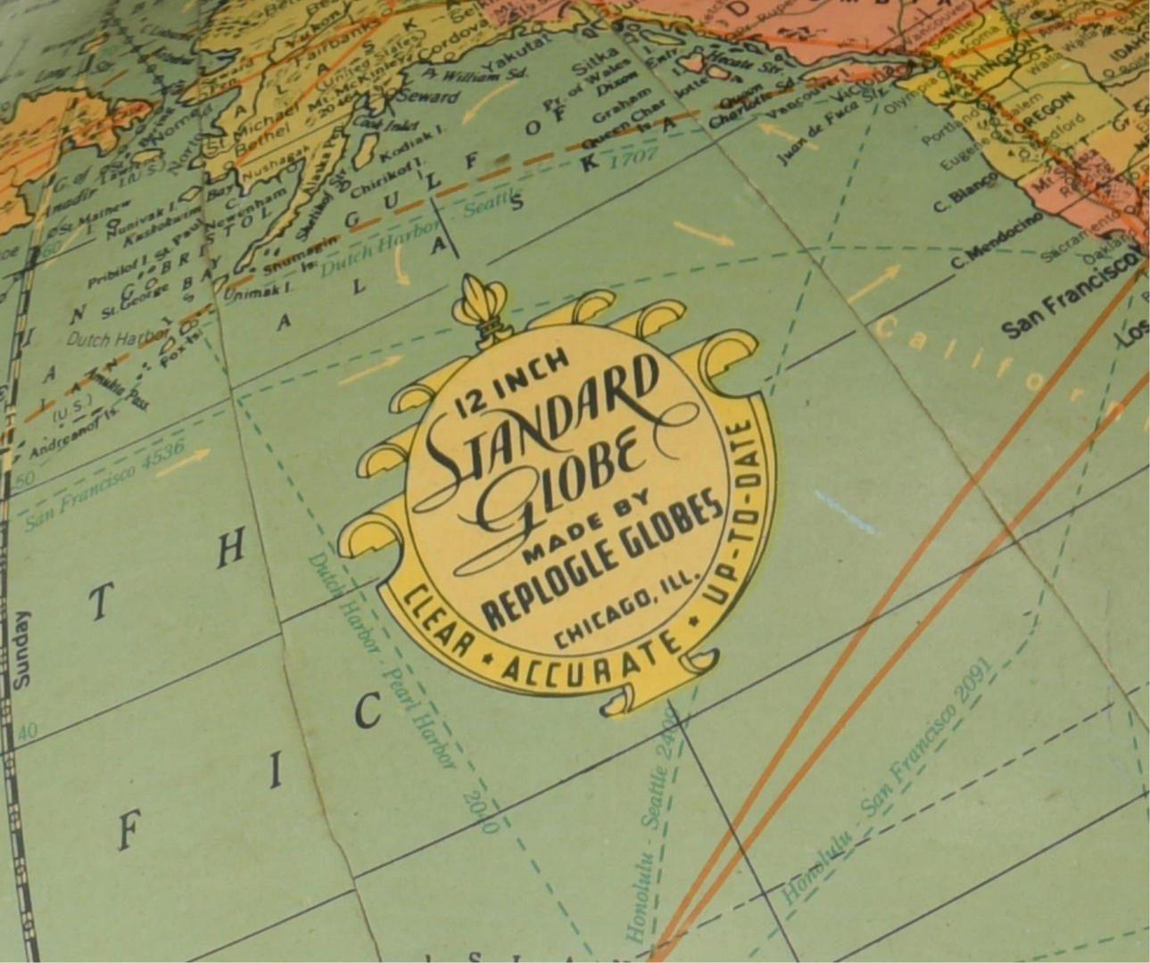 Lot 180: Group of Vintage Globes