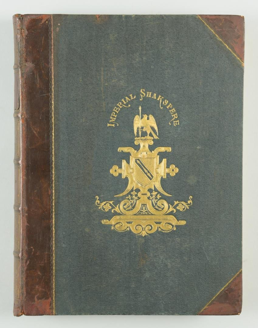 Lot 183: [Shakespeare] The Works of Shakspere, Imperial Edition, 2 Volumes
