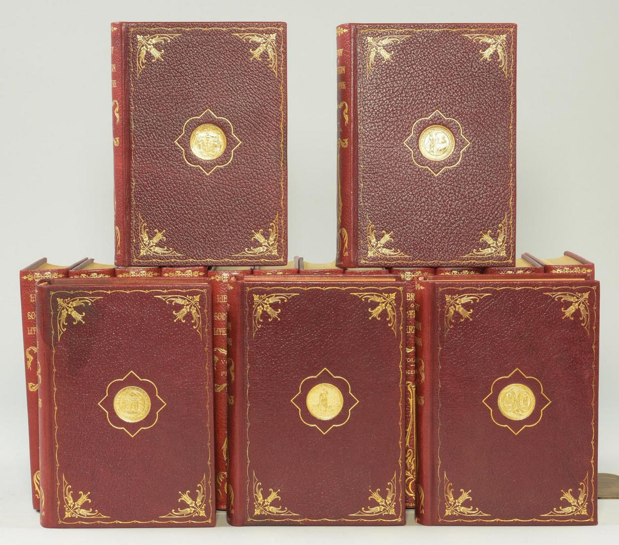Lot 184: Library of Southern Literature, 17 volumes