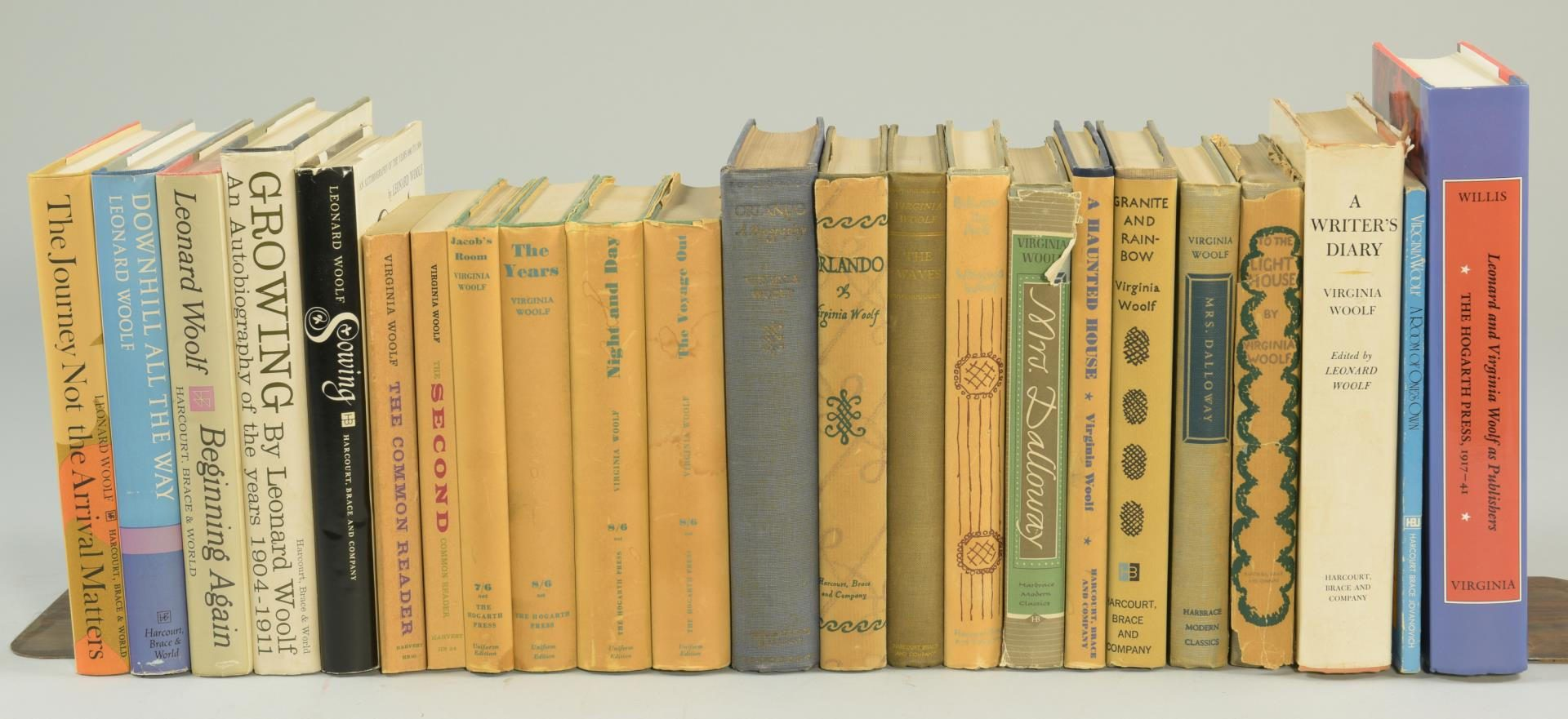 Lot 186: Lot of 40 Books by Virginia Woolf
