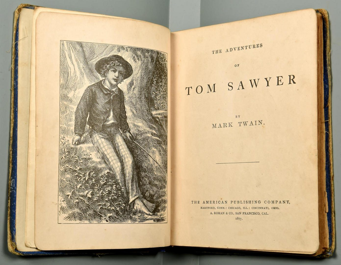 Lot 192: 4 Classic Lit Books inc. Tom Sawyer