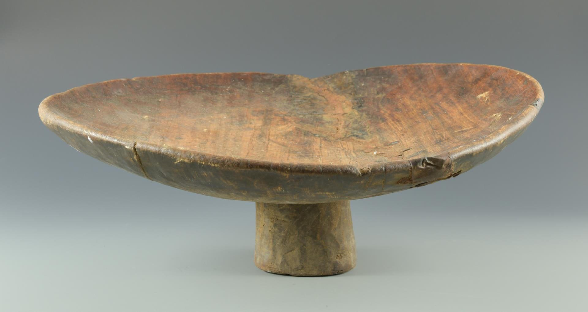 Lot 197: Large Wooden Compote