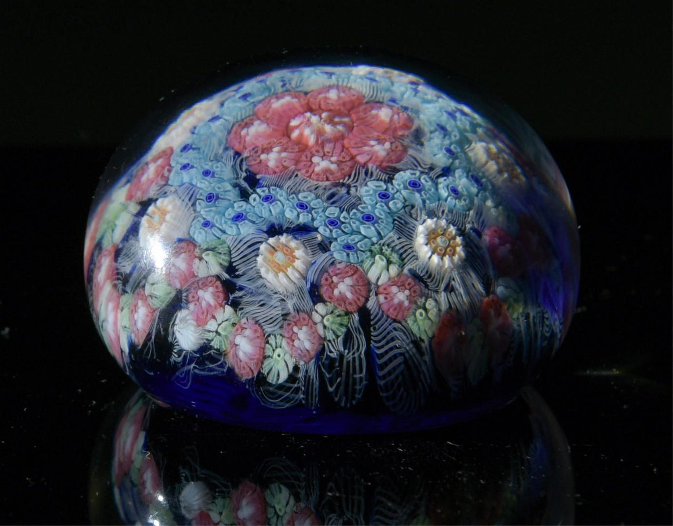 Lot 204: 3 Baccarat Paperweights, Incl. Scramble