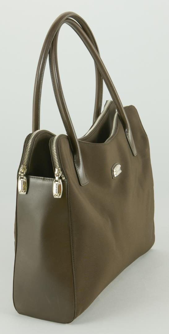 Lot 207: 2 Cole Haan Bags & Silk Scarf