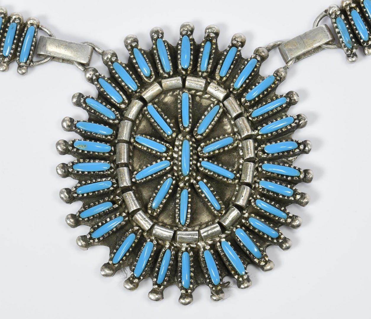 Lot 219: Benson Yazzie Navajo Necklace