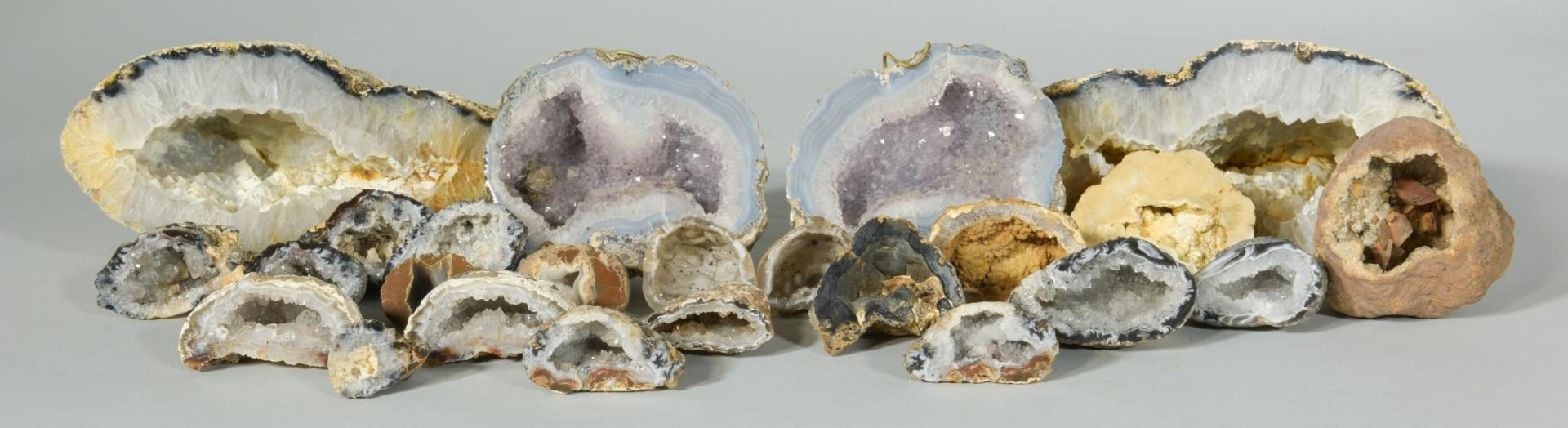 Lot 222: Large Mineral /Geode Collection