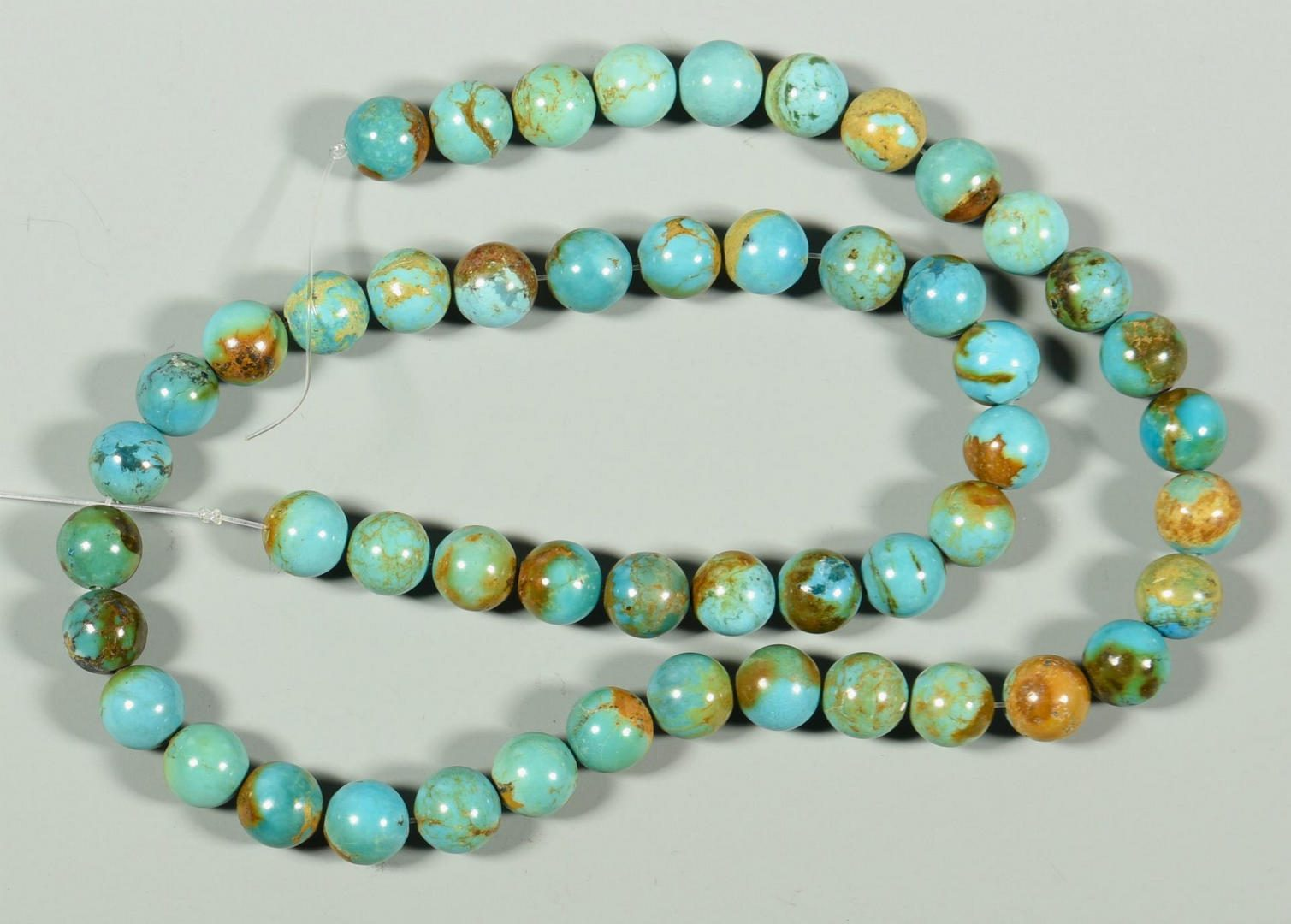 Lot 225: Group of Loose Turquoise Stones
