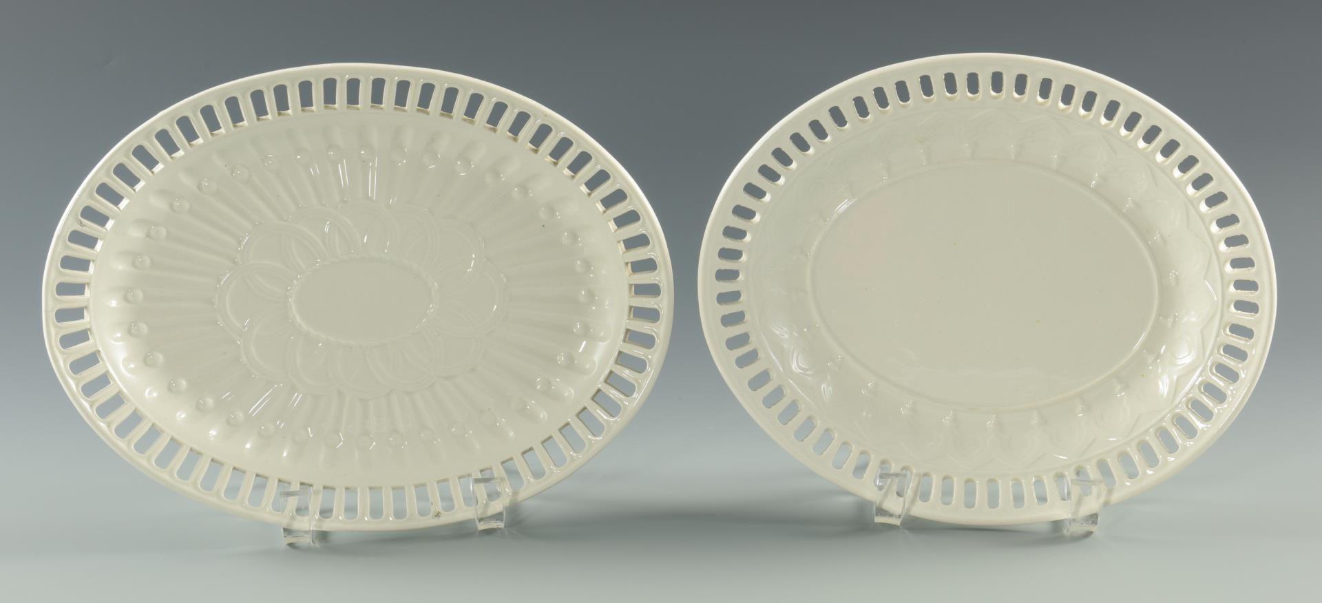 Lot 226: Grouping of Creamware & Transferware Porcelain
