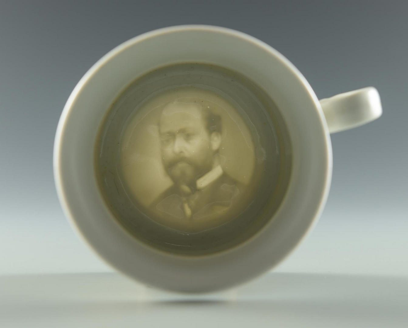 Lot 227: Presidential Lithophane Mug, poss. Greenpoint
