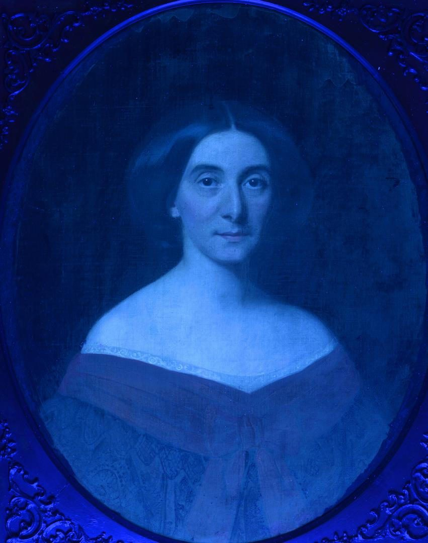 Lot 235: W. Volkhart portrait of a lady