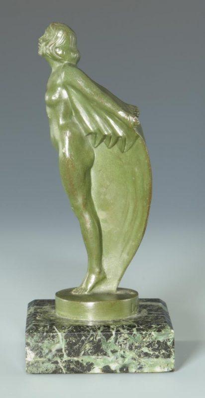 Lot 241: Le Verrier Bronze, Nu a la draperie Regule