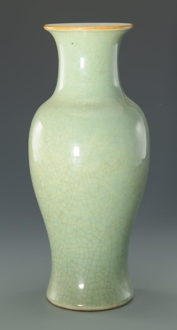 Lot 44: Chinese Celadon Vase