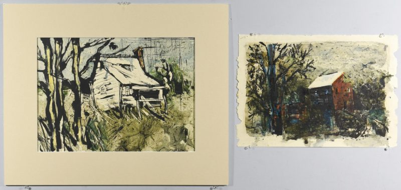 Lot 57: 2 TN Ted Burnett Watercolors
