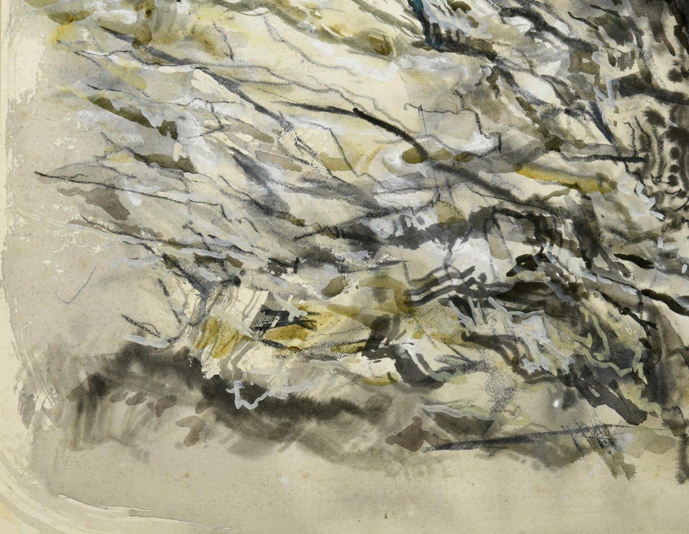 Lot 59: Lamar Dodd  Watercolor