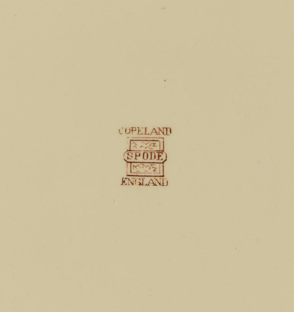 "Lot 60: Set of Copeland Spode ""Upland Game"" Porcelain, 13 pcs."