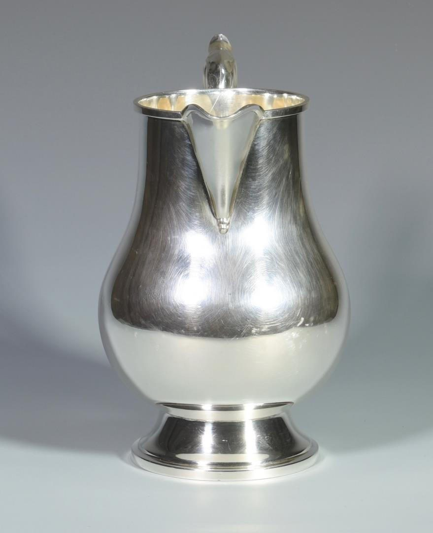 Lot 6: Fisher Sterling Silver Water Pitcher