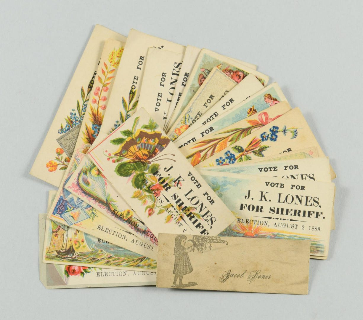 Lot 77: Lones Archive of Letters & Ephemera