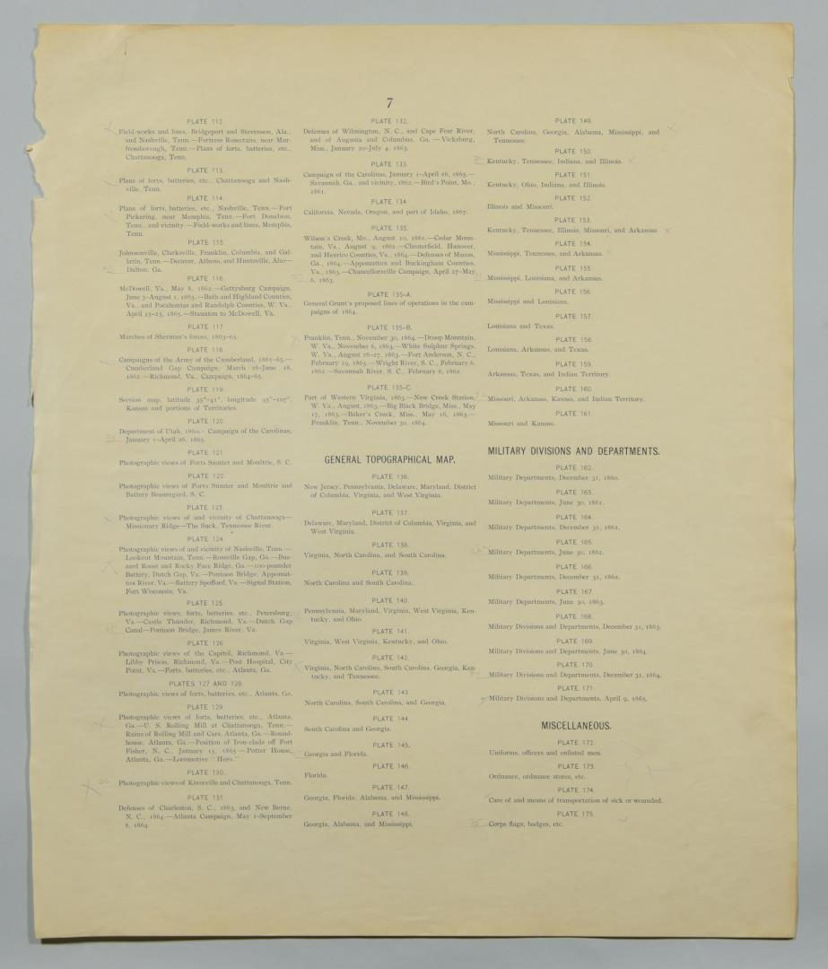 Lot 79: Civil War Related Lithographs Includ. Maps & Louis Harlow