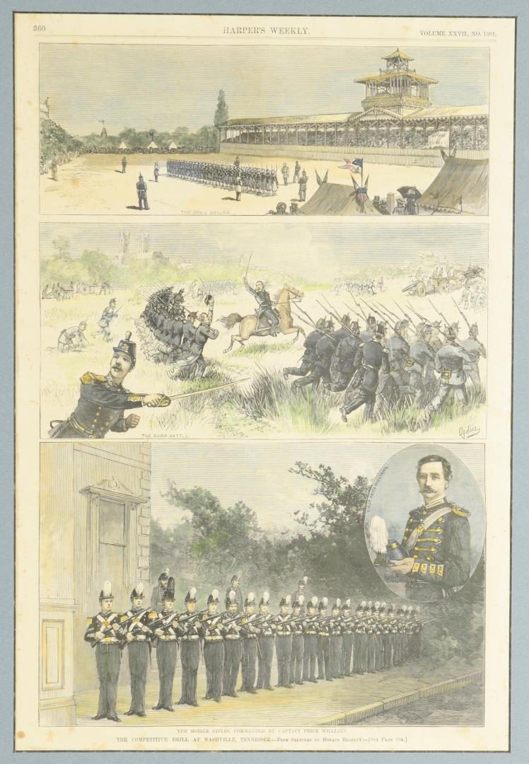 Lot 81: TN Related Prints, Harper's Weekly