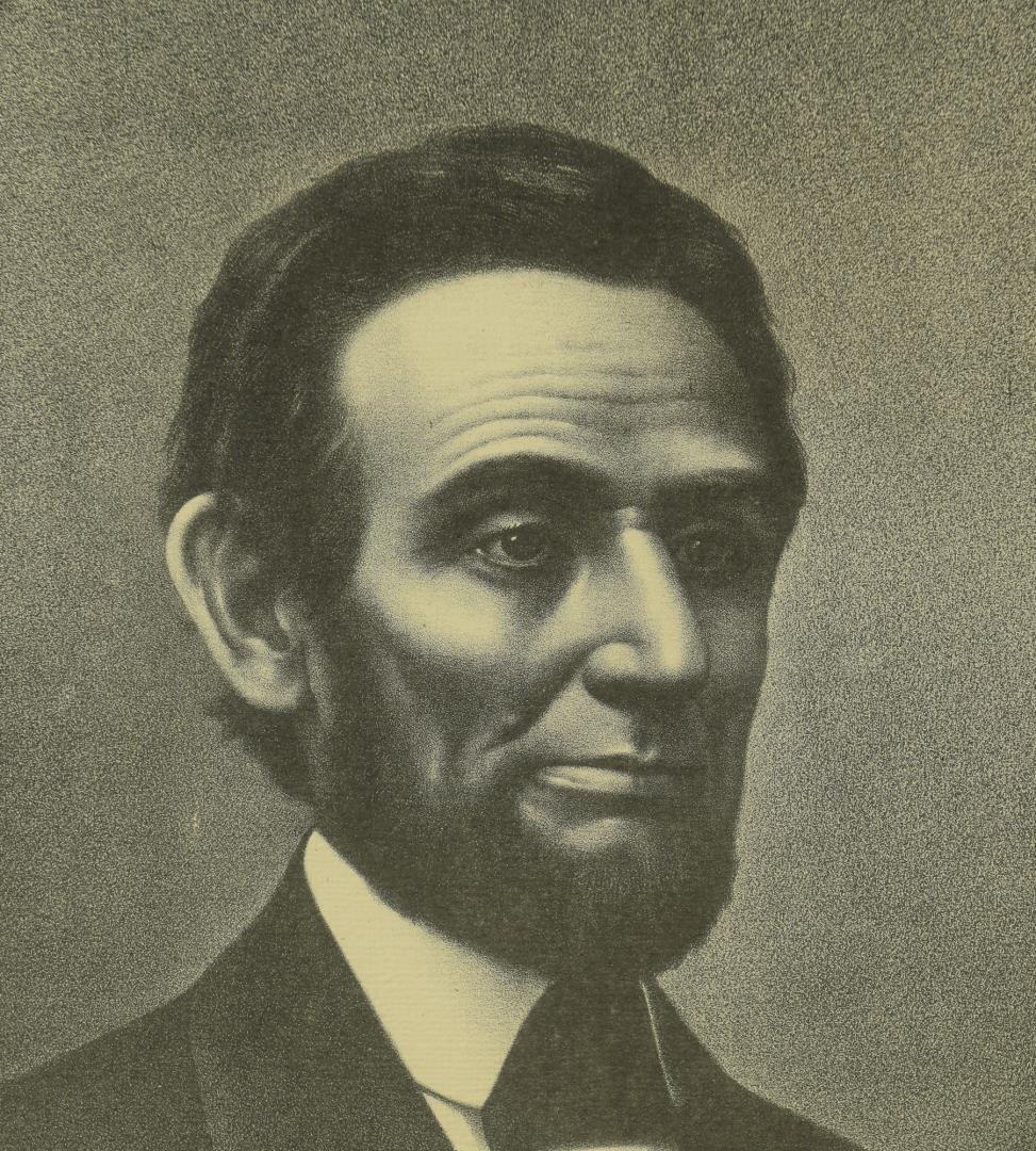 Lot 82: Victorian Abraham Lincoln framed print
